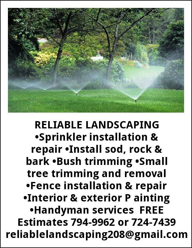 Sprinkler Installation & Repair