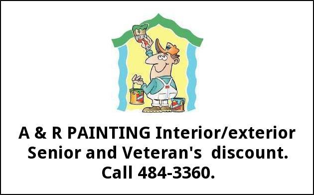 Interior/Exterior Senior and Veteran's Discount