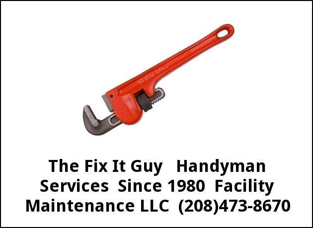 Fix It Guy Handyman Services Since 1980 Facility Maintenance LLC