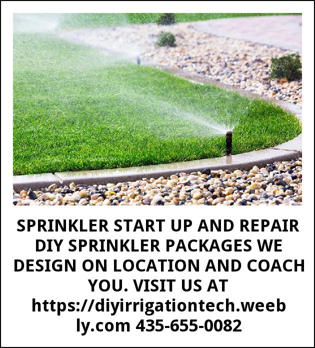 Sprinkler Start Up and Repair Diy Sprinkler Packages We Design On Location and Coach You