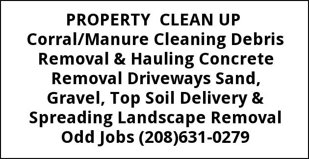 Property Clean up Corral/Manure Cleaning