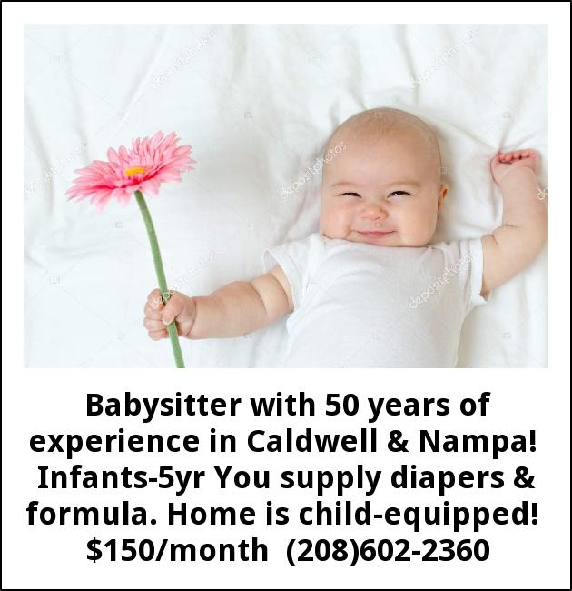 Babysitter With 50 Years of Experiece
