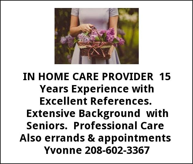 In Home Care Provider