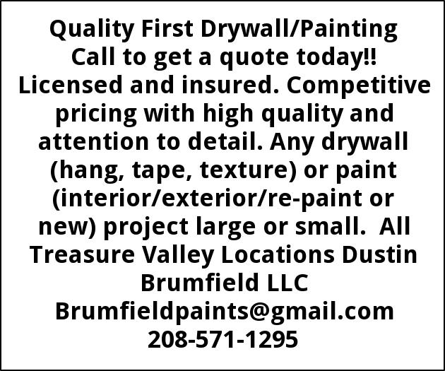 Drywall/Painting
